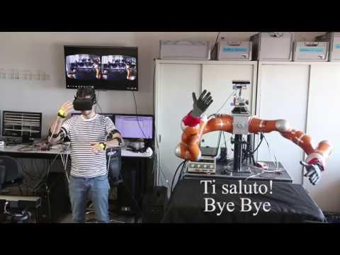 Embedded thumbnail for Italian Gestures made by a Robot