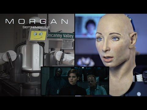 Embedded thumbnail for FACE attore per un giono - Robots React to the Morgan Trailer