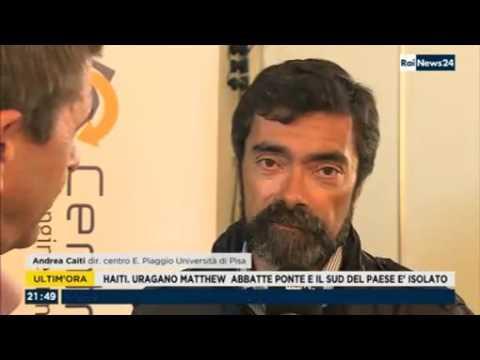 Embedded thumbnail for RaiNews24 intervista il direttore del Centro Piaggio Andrea Caiti