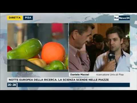 Embedded thumbnail for RAINews24 a BRIGHT - Intervista a Daniele Mazzei