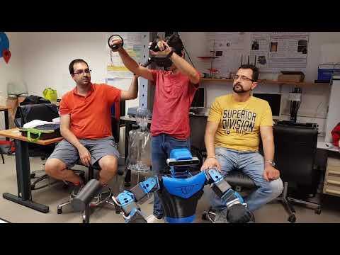 Embedded thumbnail for Piacere EGO, una stretta di mano robotica